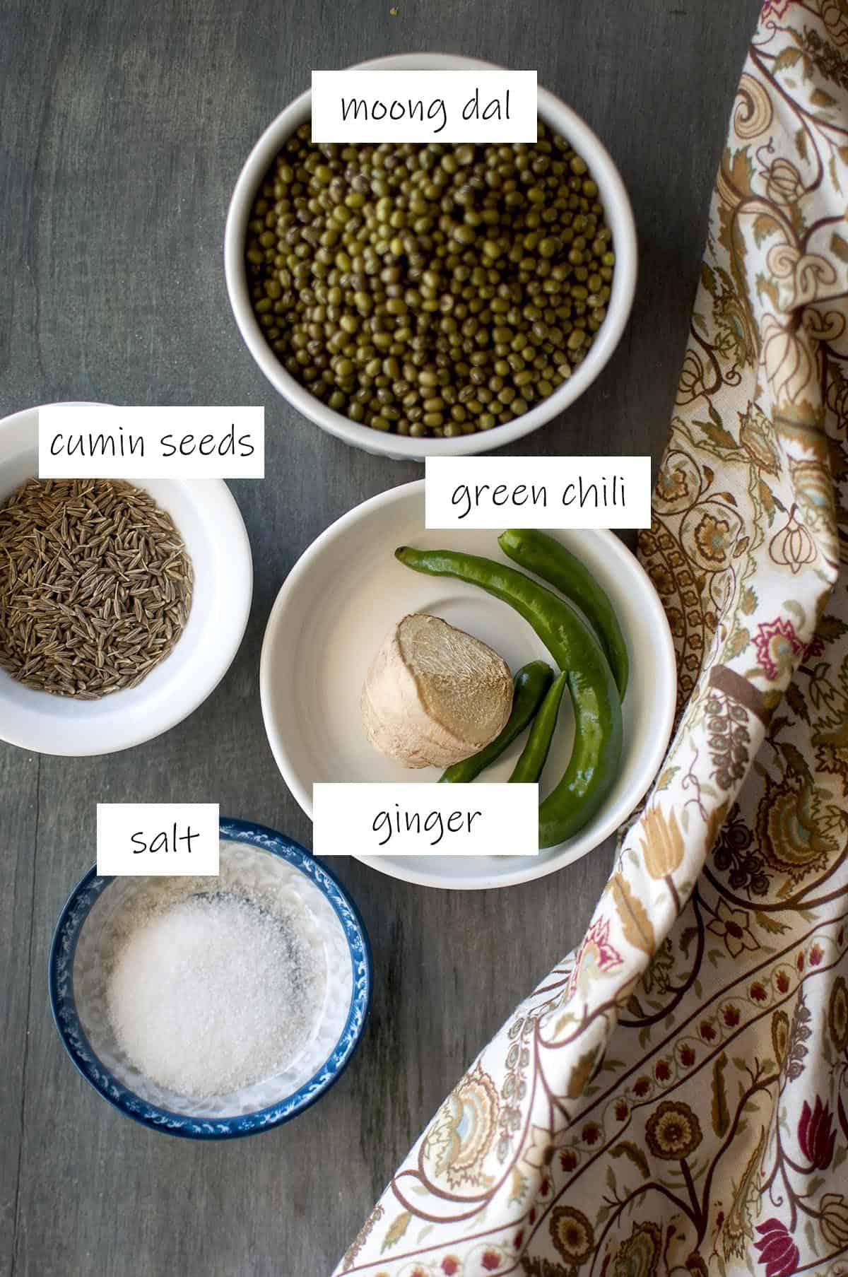 Ingredients - details in recipe card