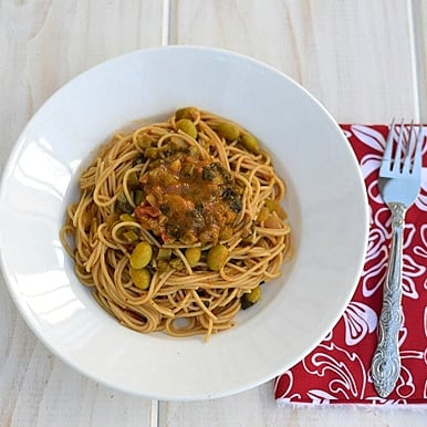 Vegan Spicy Pasta