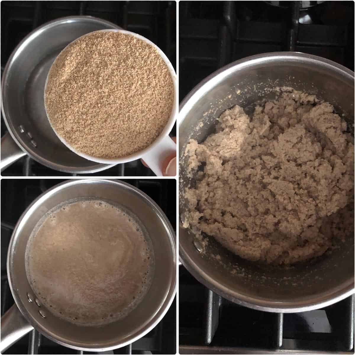 step by step photos of cooked telagapindi