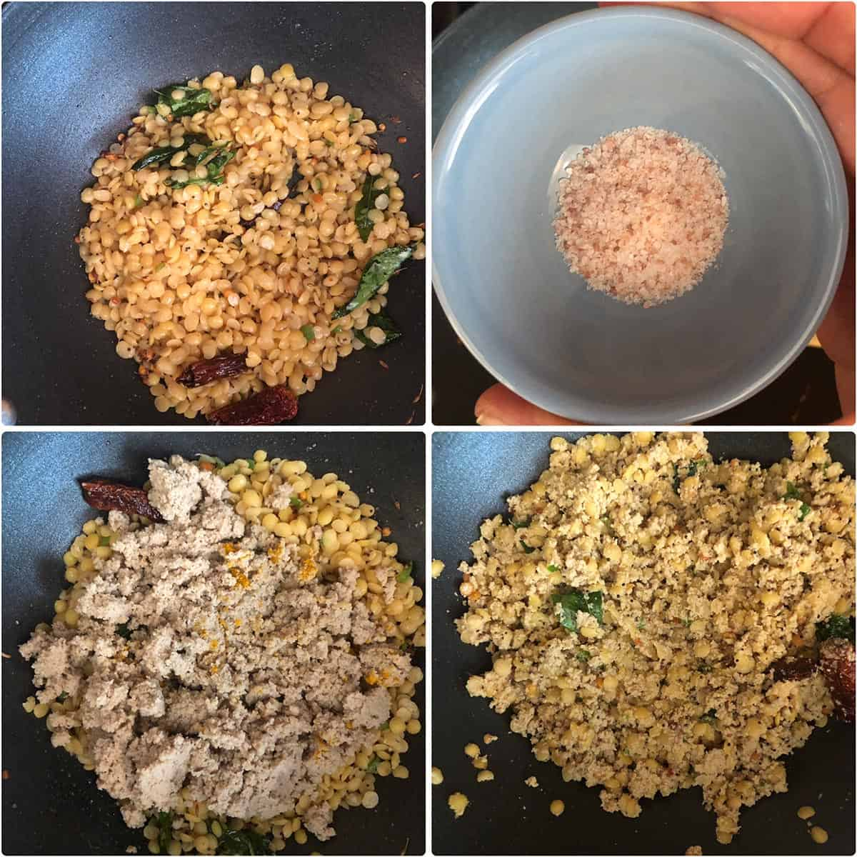 Making the curry - details in recipe card