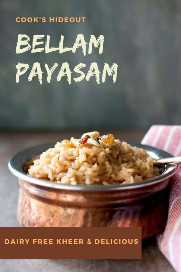 Bellam Payasam