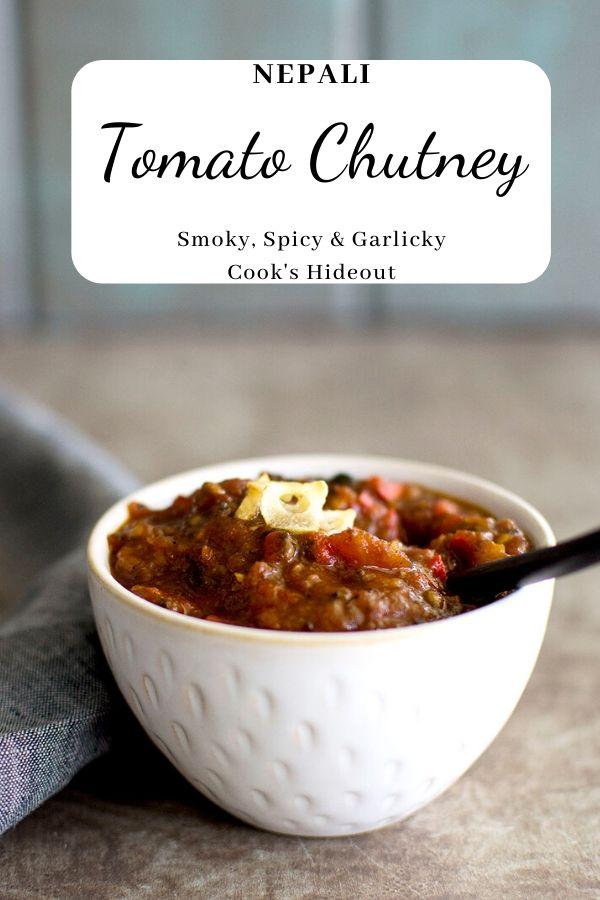 Nepali Tomato Chutney