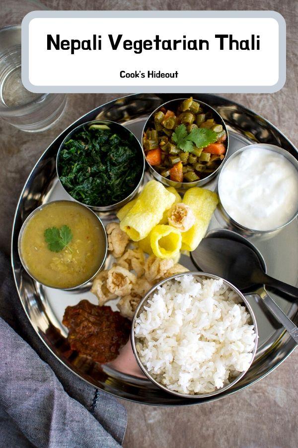 Nepali Vegetarian Thali