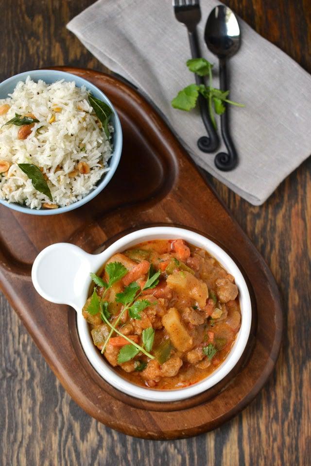 Sri Lankan Vegetarian Curry