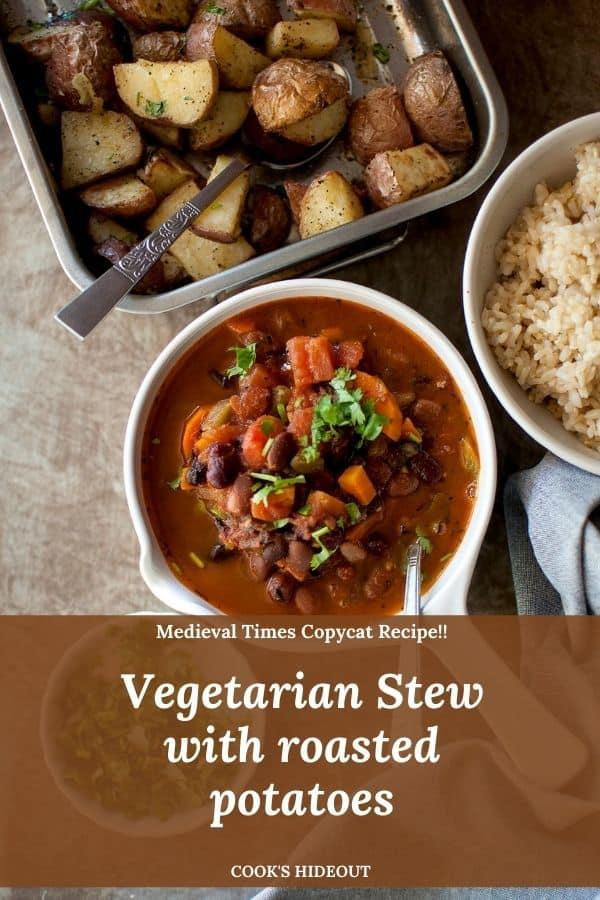 Vegetarian 3 Bean Stew