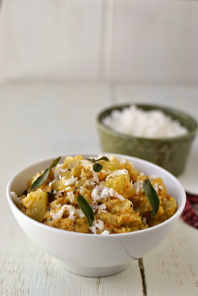 Bottle gourd/ Lauki Coconut Curry