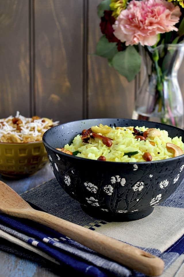 Bowl of Lemon Rice