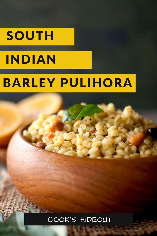 Barley Pulihora