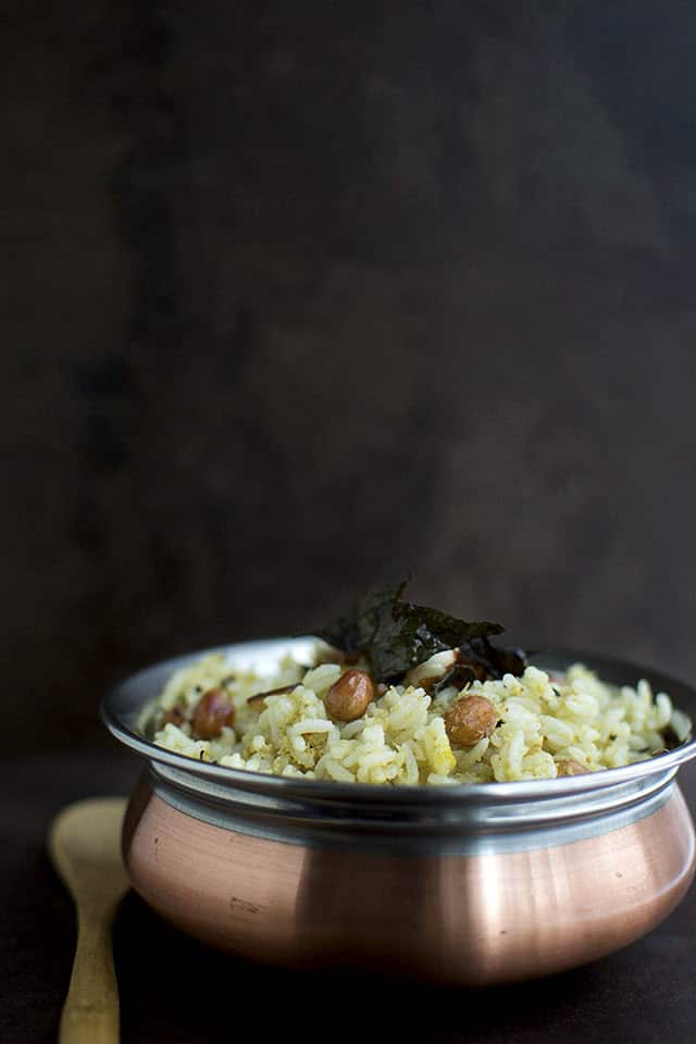 South Indian Style Coconut rice