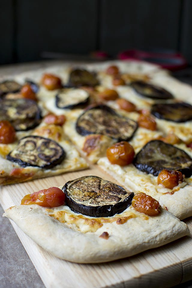 Easy to make Pizza Dough with Italian Vegetarian toppings