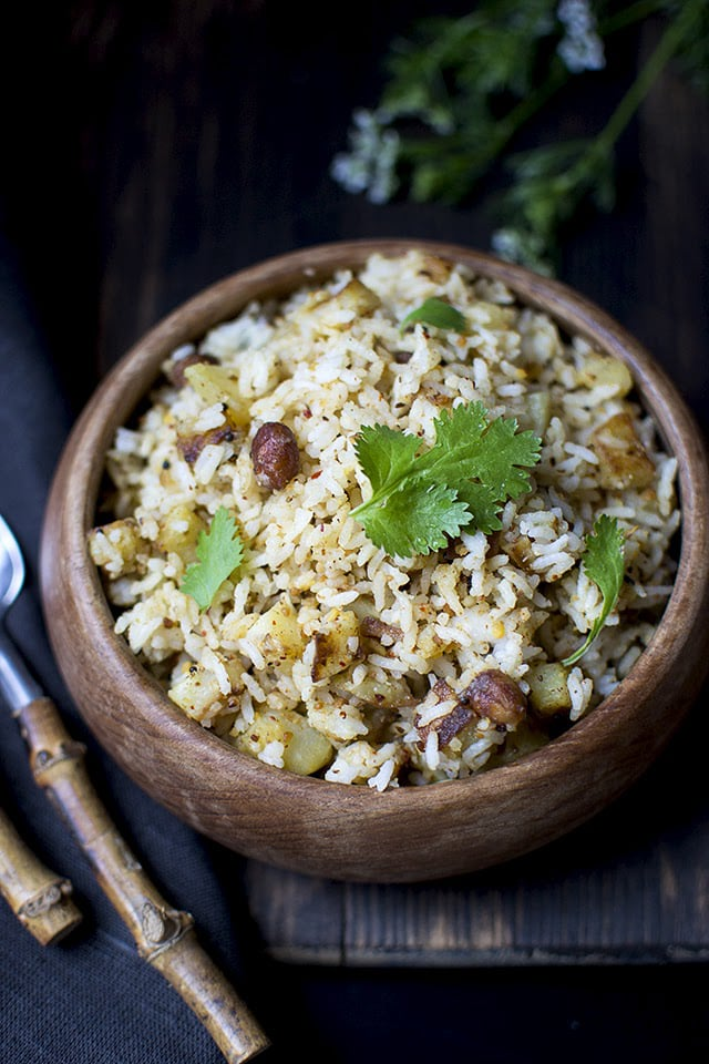 South Indian Style Potato Rice