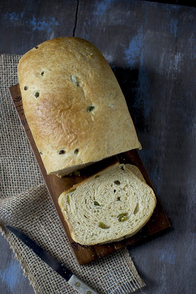 Indian style Jalapeño Bread