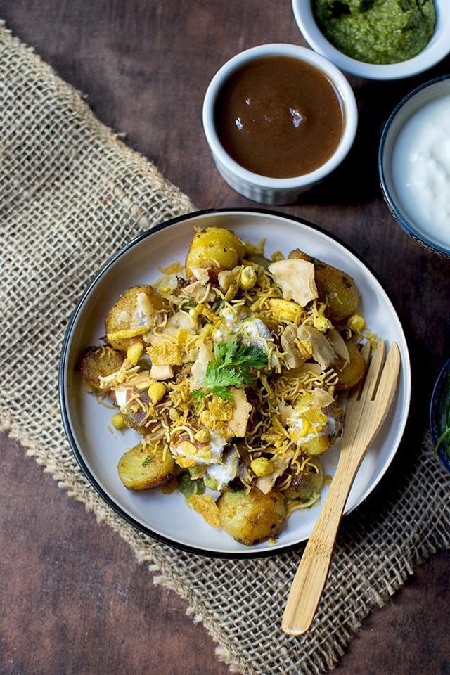 Spicy Potato Chaat