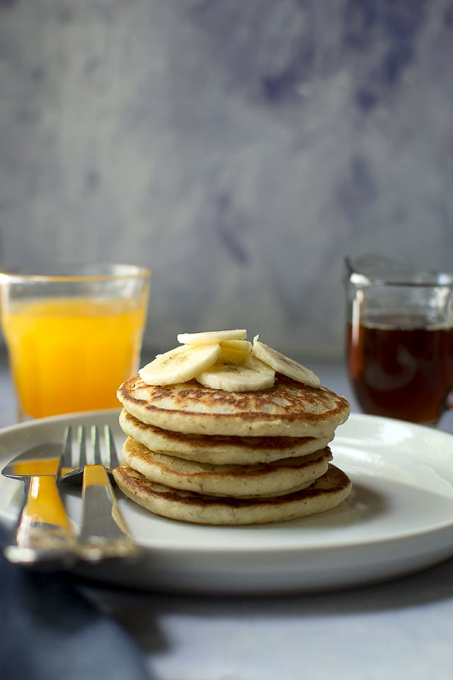 Pancakes with Ancient grains flour blend