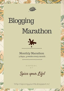 Logo for Blogging Marathon
