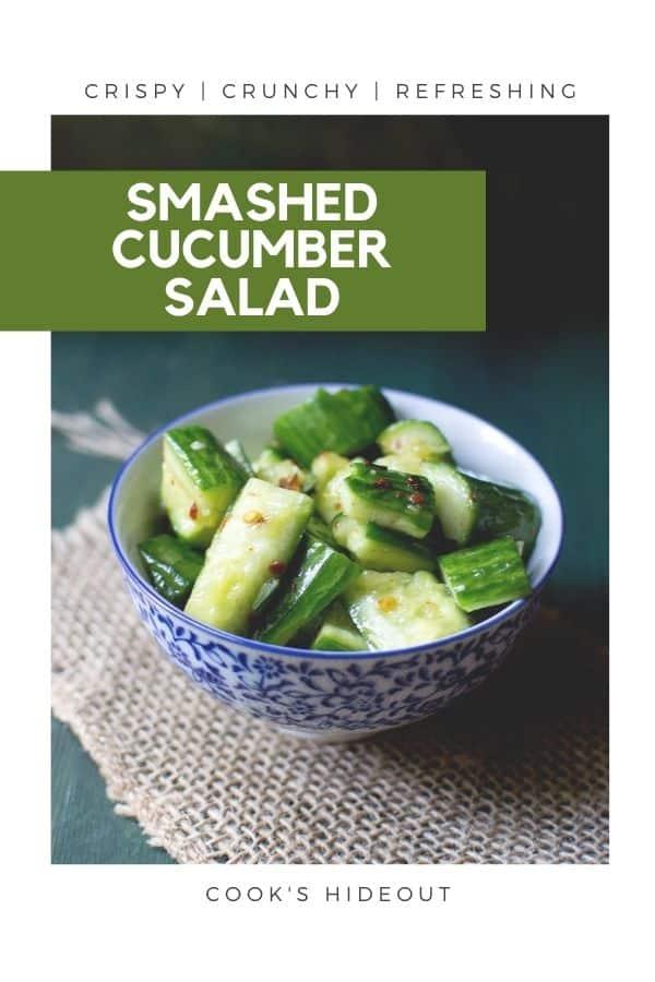 Smashed Cuke Salad