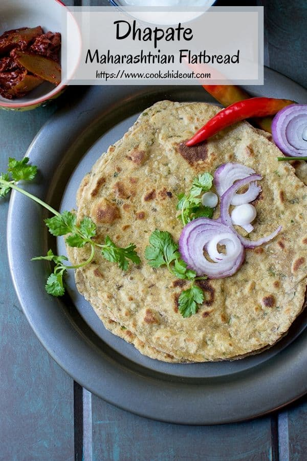 Pin photo for Indian flatbread