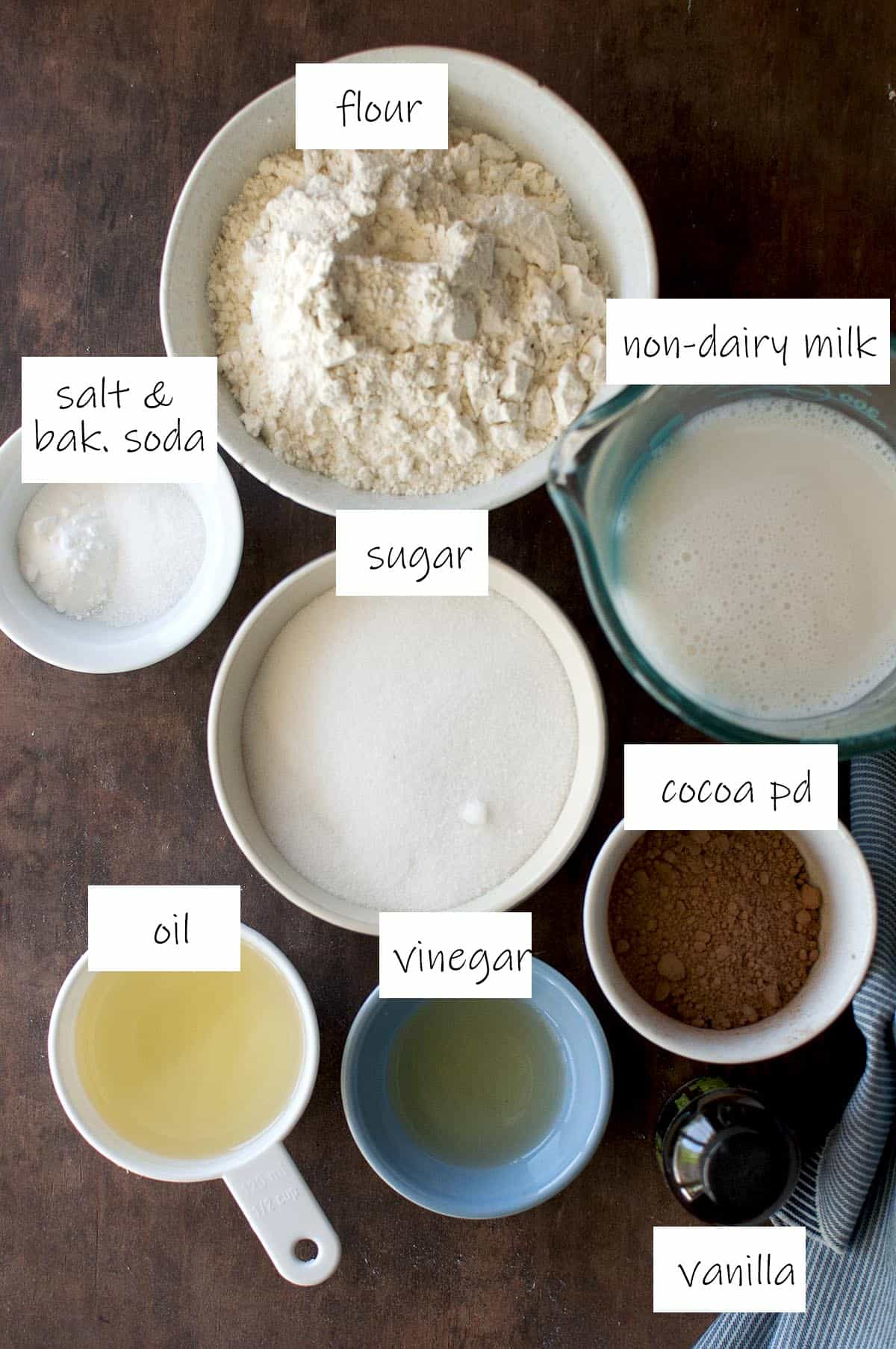 Ingredients needed for the base - details in recipe card