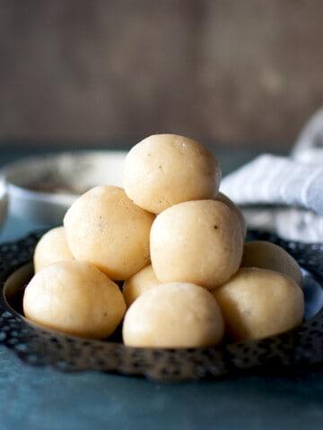 Coconut Malai Ladoo