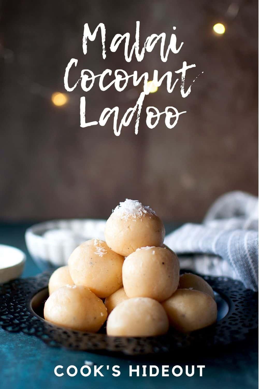 Malai Coconut Ladoo