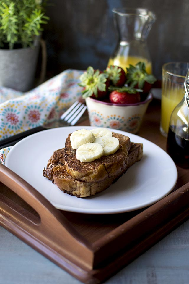 Vegan Chocolate French Toast Recipe Cook S Hideout