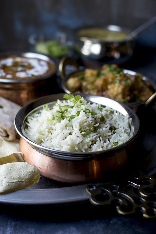 Vegetarian North Indian Thali