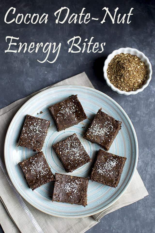 Cocoa Dates Nut Energy Bites Vegan Recipe Cook S Hideout
