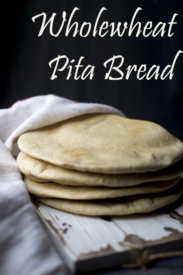 Pita Bread with Wholewheat flour