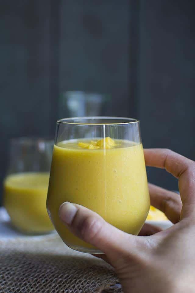 Tropical Mango & Passionfruit Smoothie