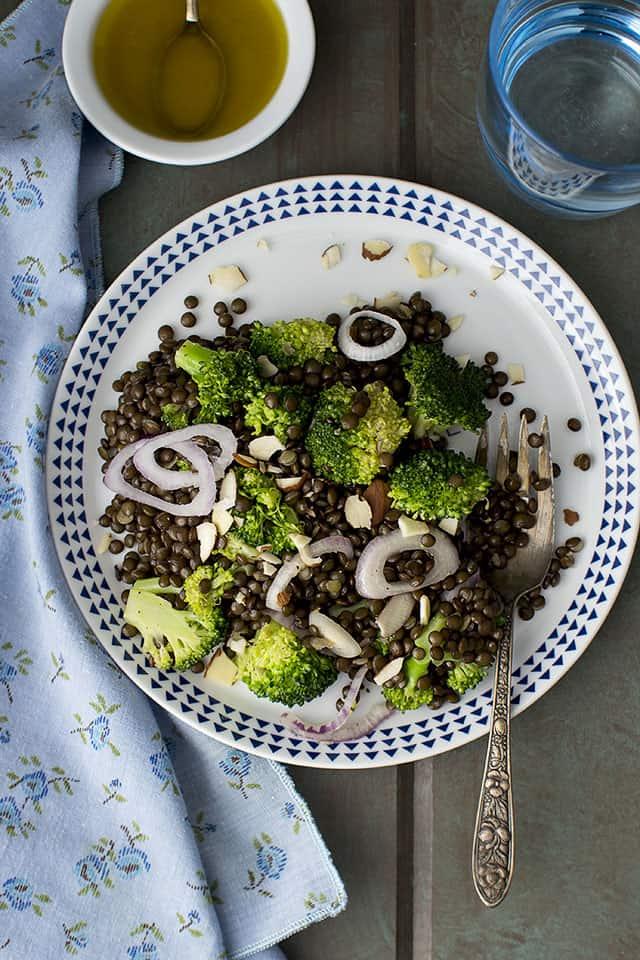 Black Lentil Salad