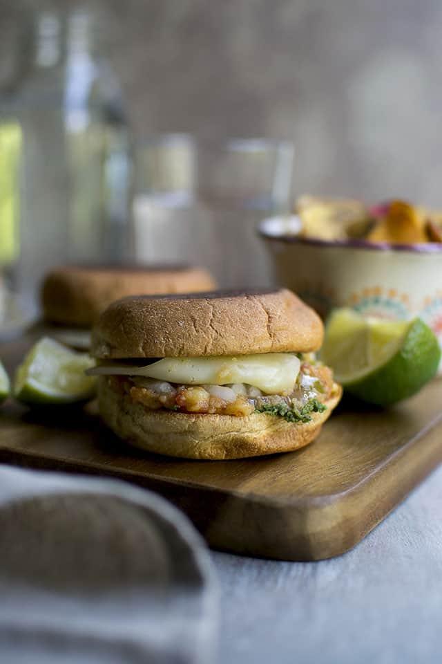 Pav Bhaji Sandwich