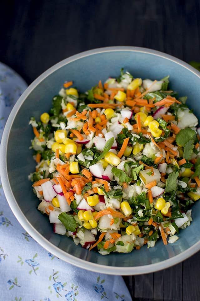 Chopped Veggie Salad