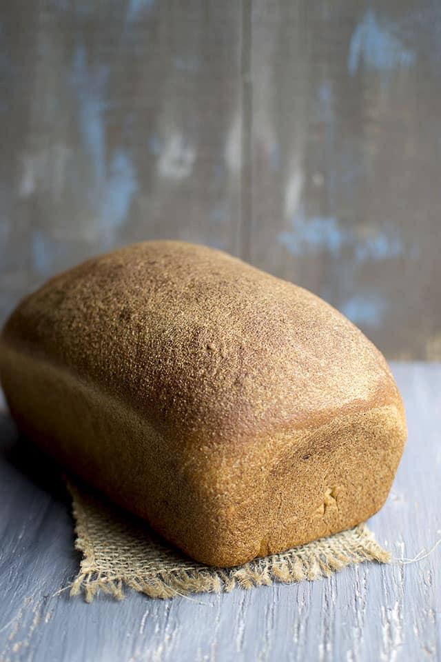 100% Whole wheat Sandwich Bread