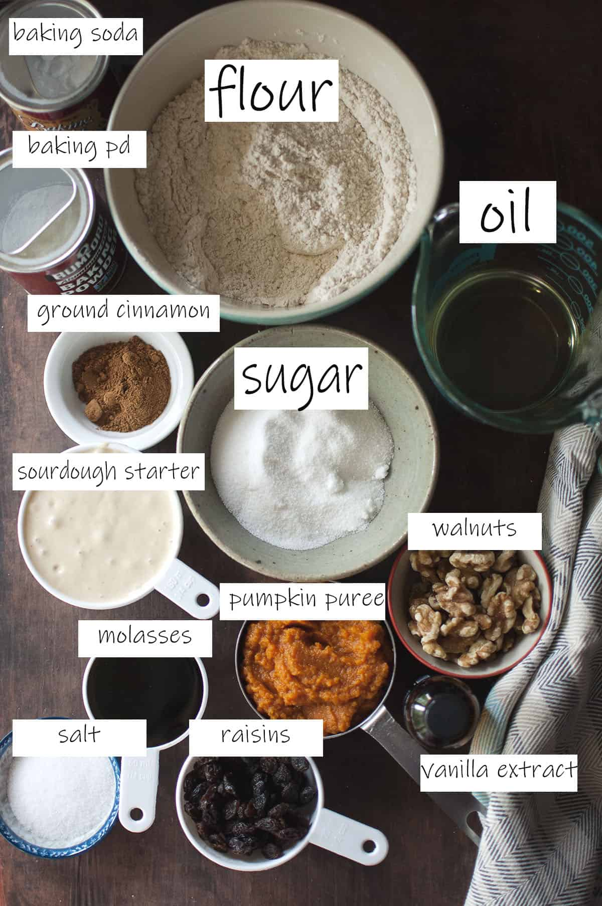 Ingredients needed to make the recipe - refer to recipe card for details