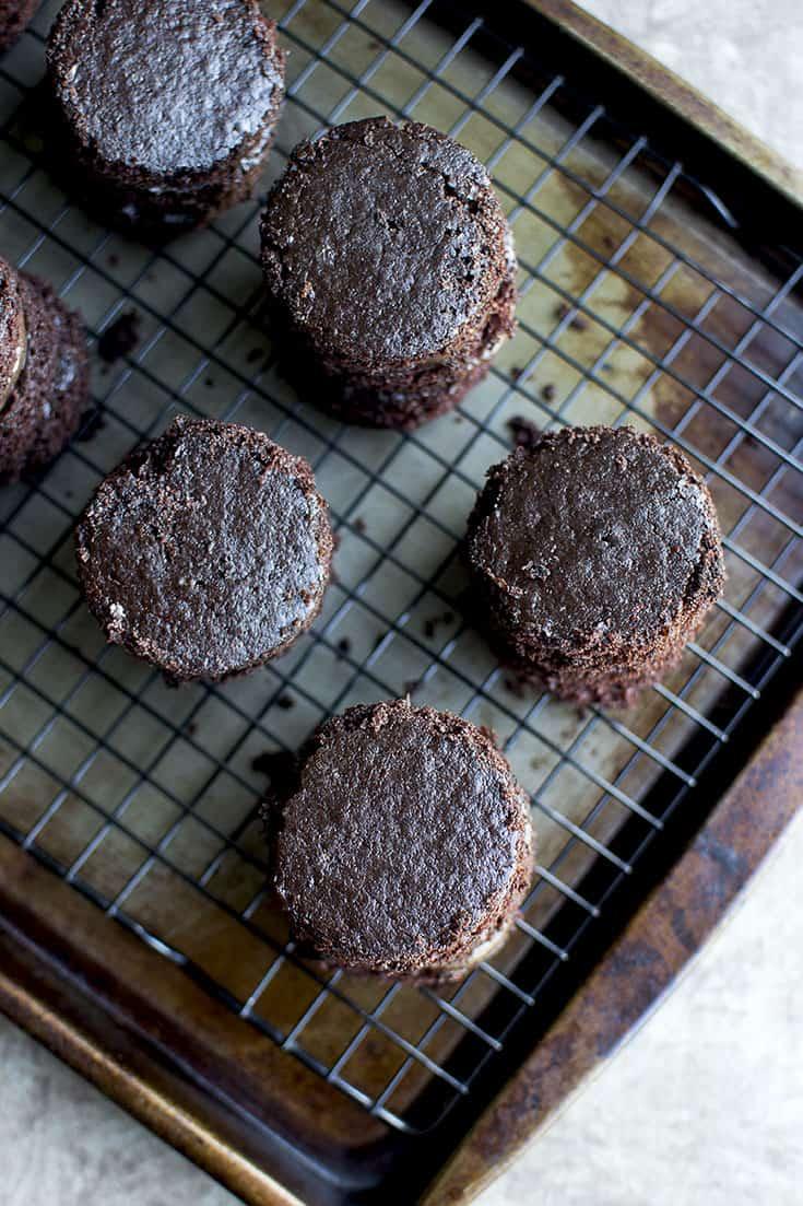 Eggless Devil's Food Cake