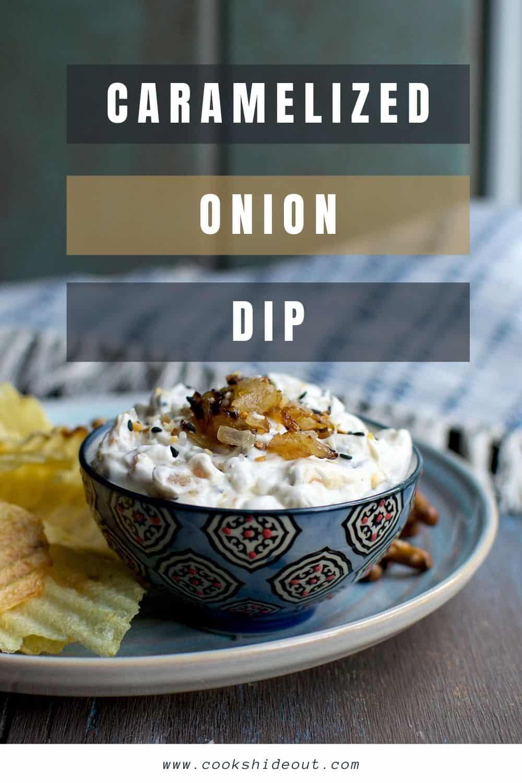 Everything Bagel Onion dip