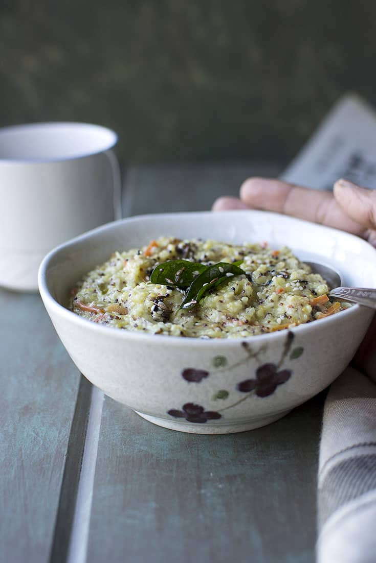 Upma with Millets