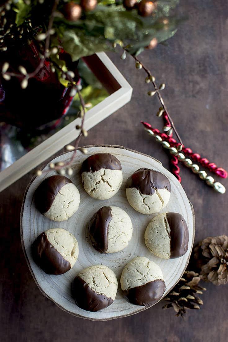 Tray of Bulgarian Medenki Cookies