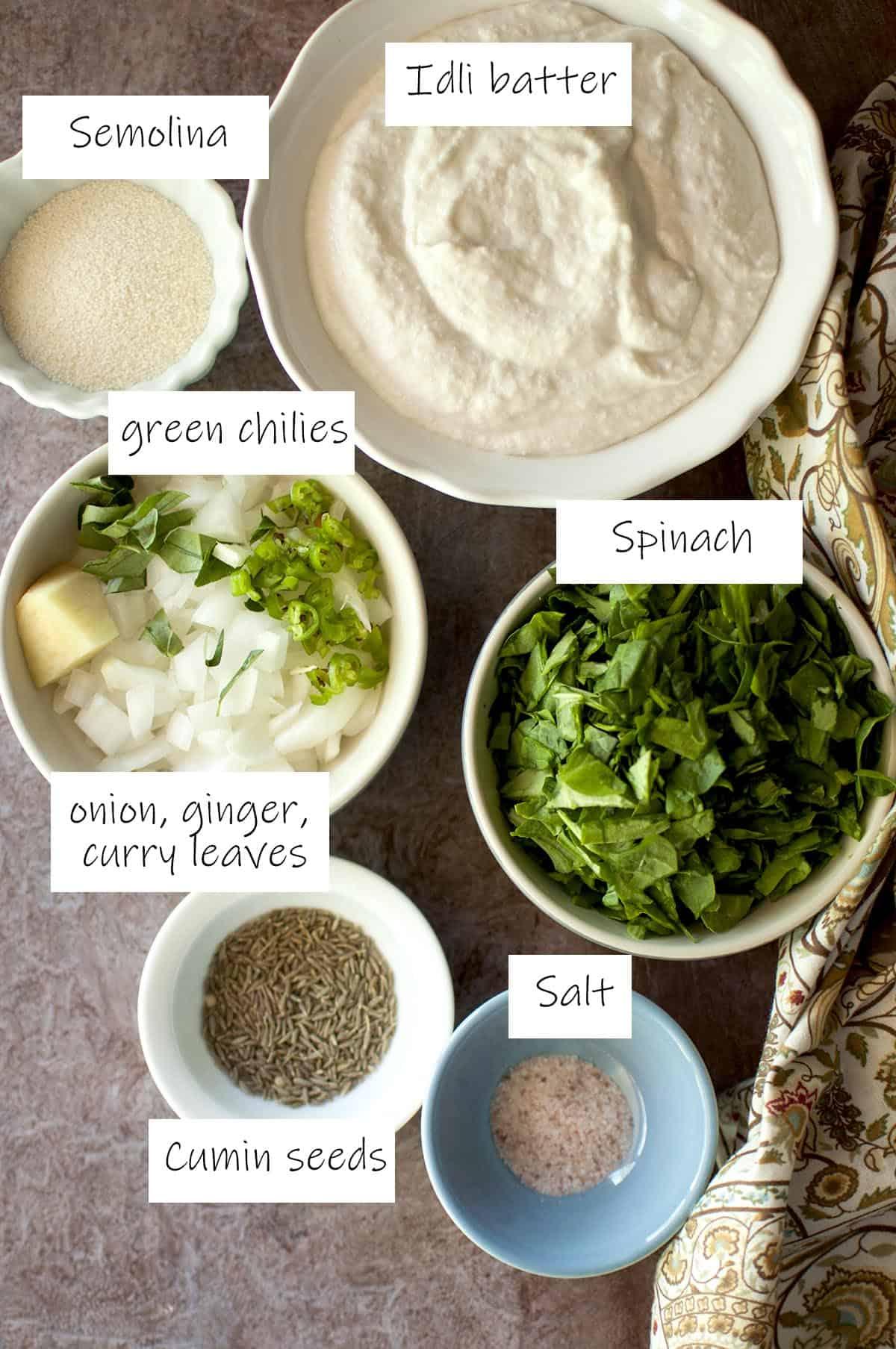 Ingredients needed - details in recipe card