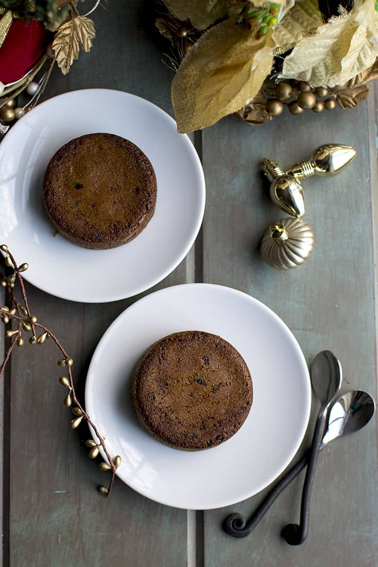 Instant Pot Steamed Pudding with Dates