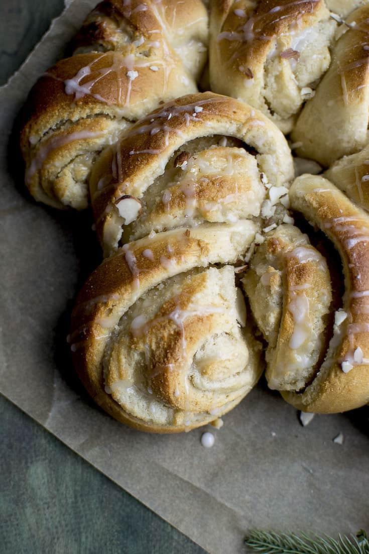 Swedish Almond Wreath Bread