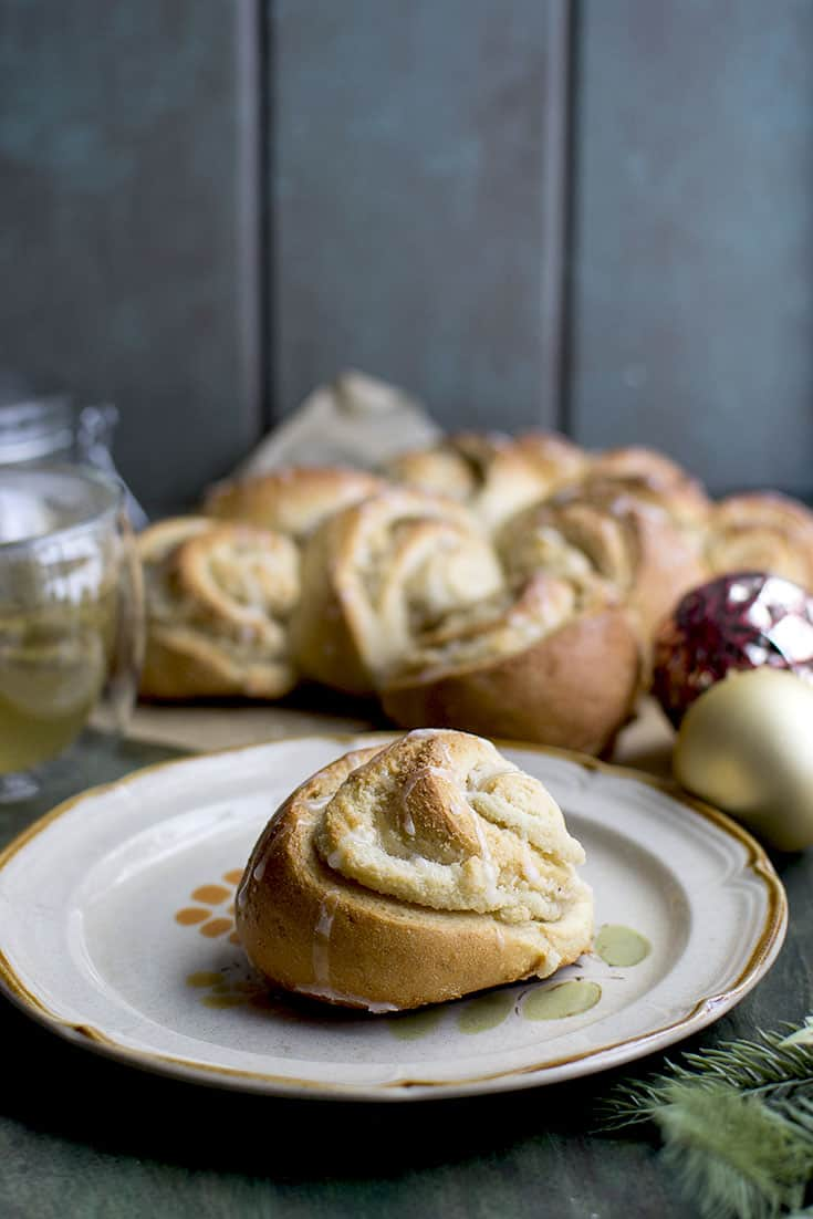 Swedish Almond Wreath Bread
