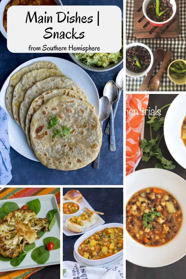Main Dishes & Snacks from South America