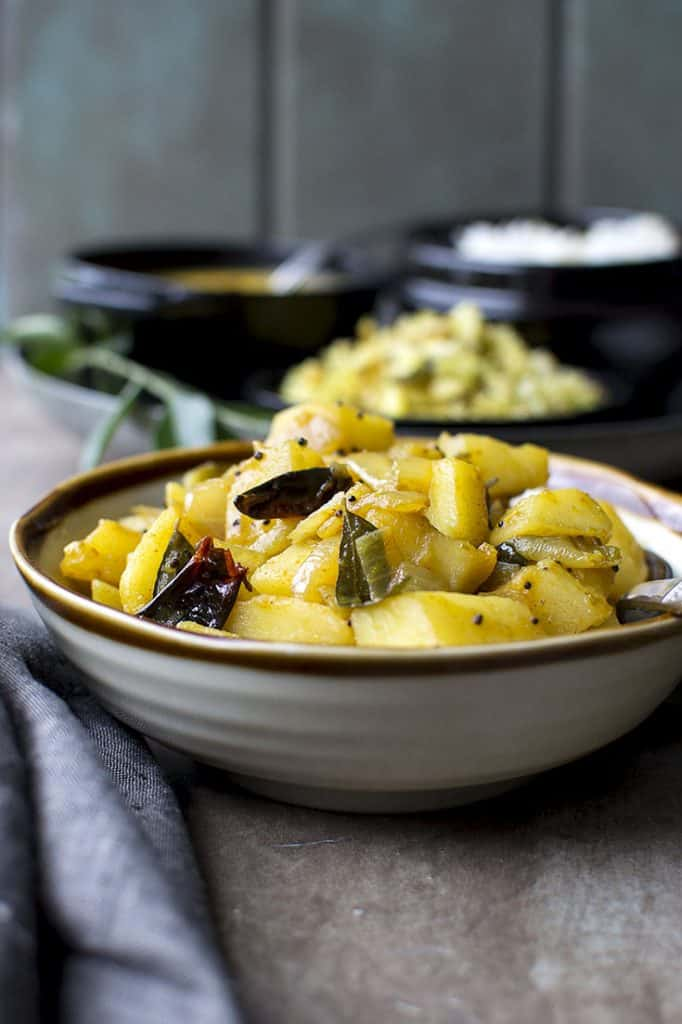 Bowl of Quick and easy Bombay Aloo