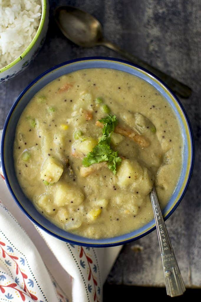 Mixed Vegetable Sagu