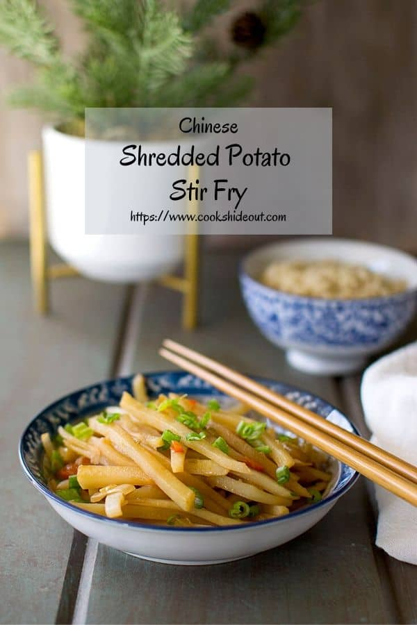 Potato & Pepper Stir fry