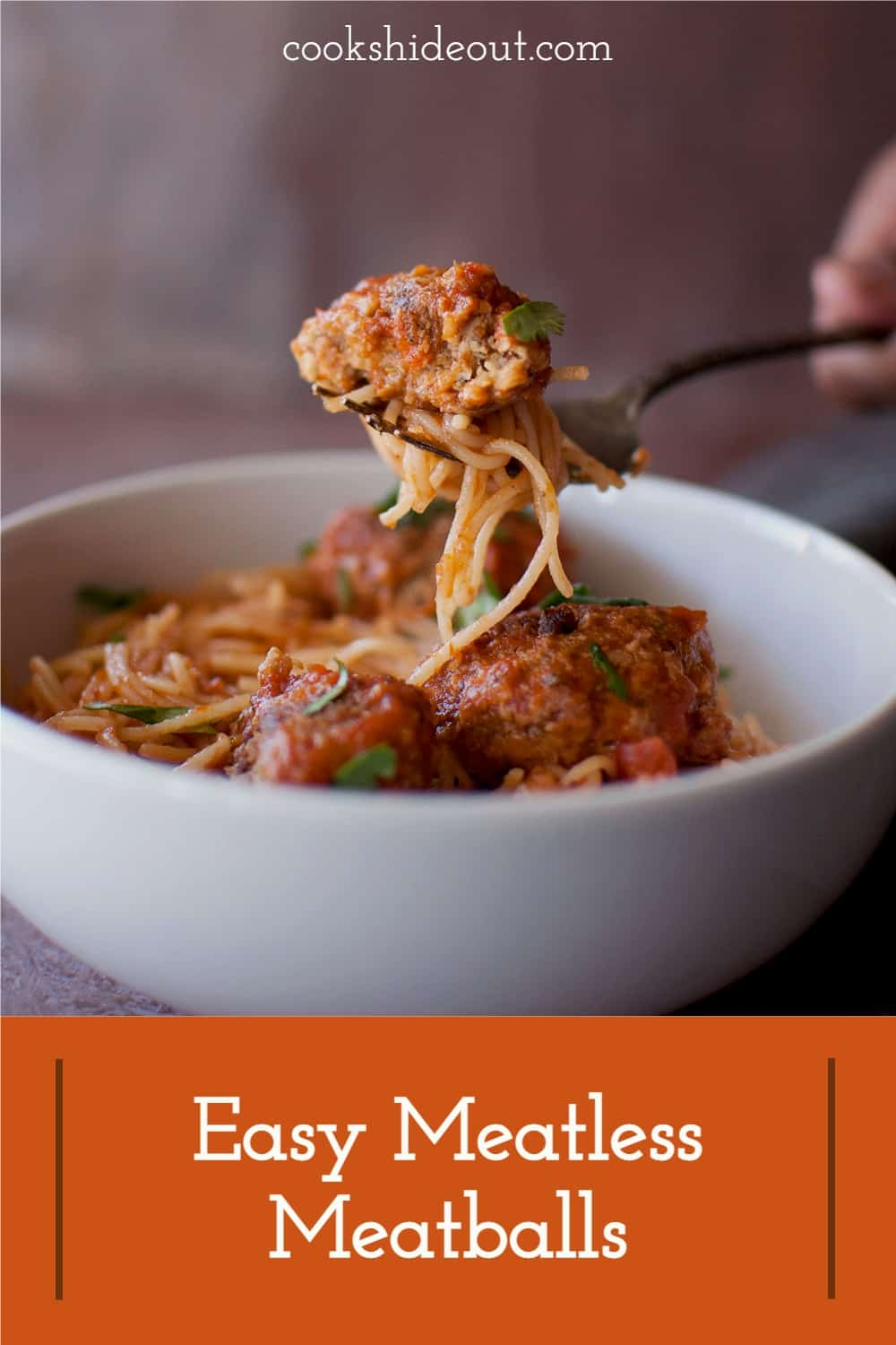 Spaghetti with Meatless Meatballs